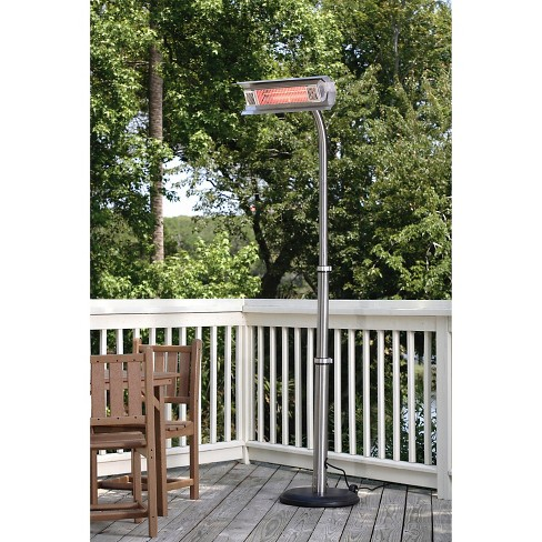 Fire Sense Stainless Steel Telescoping Offset Pole Mounted Infrared