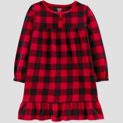 0da9ea0b2a8d Toddler Girls  Buffalo Check One Piece Pajama - Just One You® Made ...