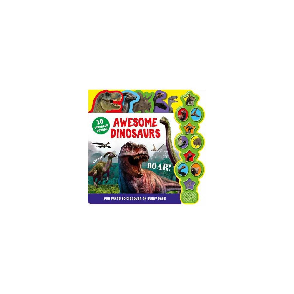 Awesome Dinosaurs - Brdbk (Hardcover)