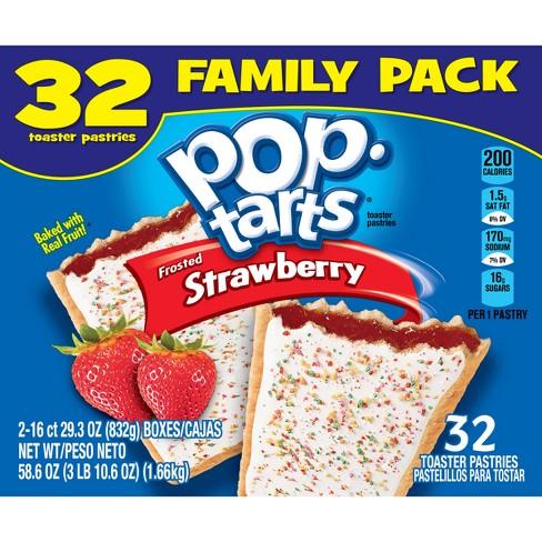 Pop Tarts Strawberry - 32ct/54.1oz
