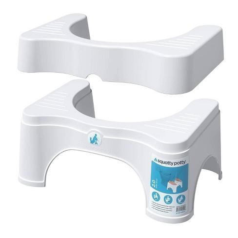 "7""-9"" Adjustable 2.0 Toilet Stool White - Squatty Potty - image 1 of 4"