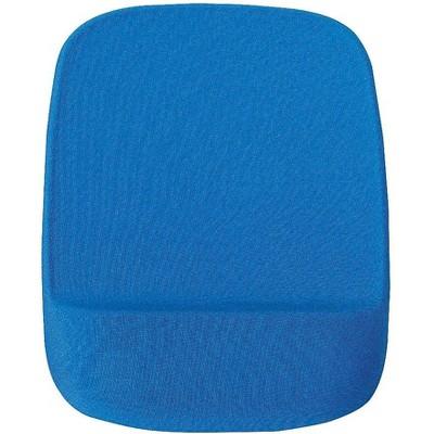 Staples Memory Foam Mouse Pad Wrist Rest Blue 24346019