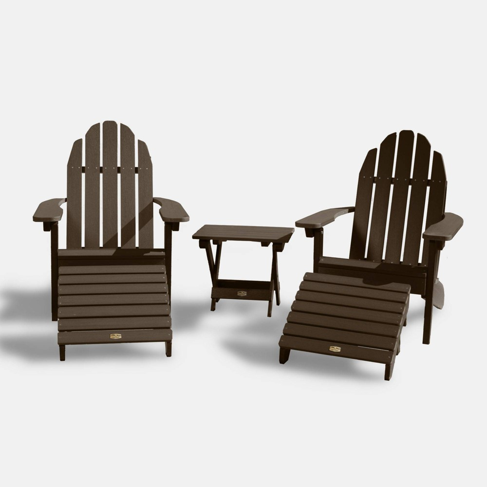 Mountain Bluff Essential Patio Seating Set - Brown - Elk Outdoors