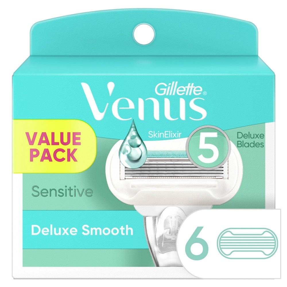 Venus Deluxe Smooth Sensitive Women 39 S Razor Blade Refills 6ct
