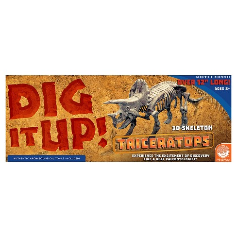 Mindware Big Dig Dino Model - Triceratops - image 1 of 4