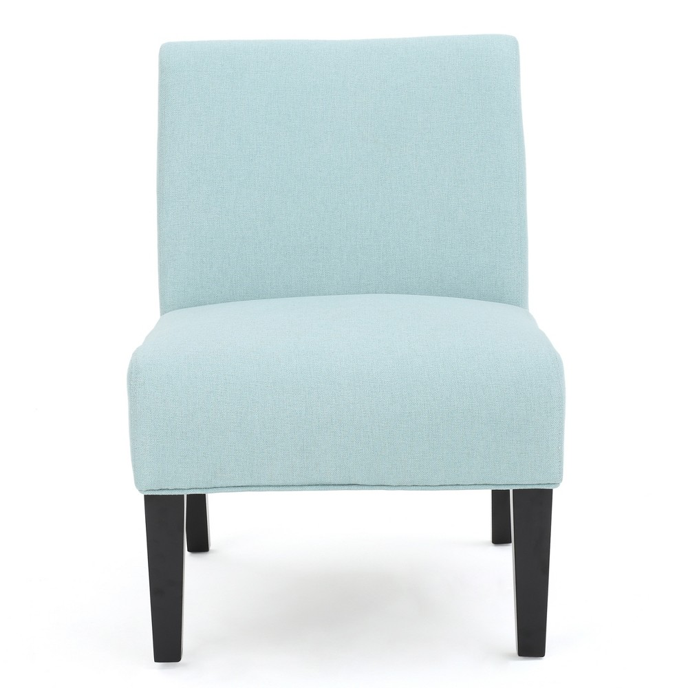 Kassi Accent Chair - Light Blue - Christopher Knight Home