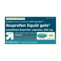 Ibuprofen (NSAID) Pain Reliever & Fever Reducer Softgels - Up&Up™