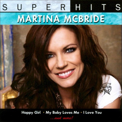 Martina mcbride - Super hits (CD) - image 1 of 1