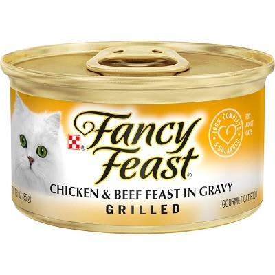 Purina Fancy Feast Gravy Wet Cat Food Can - 3oz