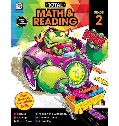 Total Math & Reading Grade 2 (Paperback) - image 1 of 1