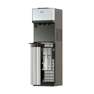 Brio Self Cleaning Bottleless Water Cooler Dispenser with Filtration 2 Free Replacements