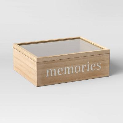 Memories Photo Keepsake Box - Threshold™