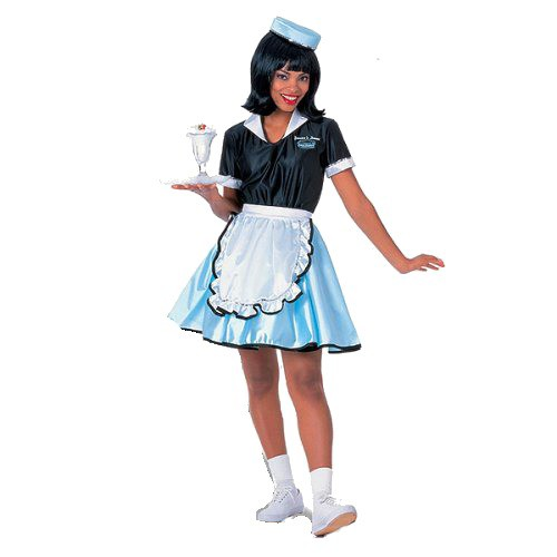 Halloween Women's Car Hop Costume Medium