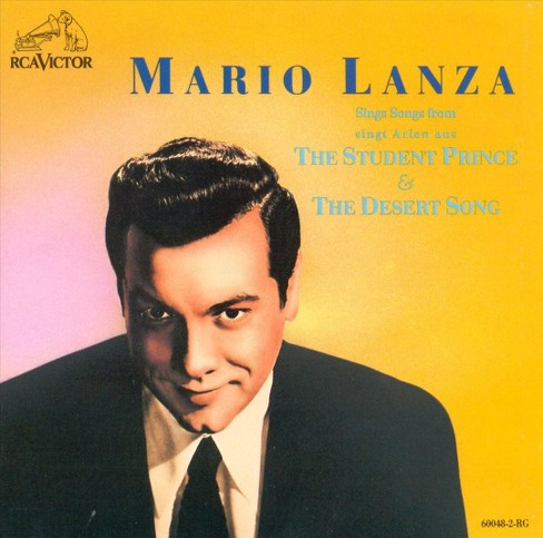 Mario lanza - Student prince/Desert song (CD) - image 1 of 1