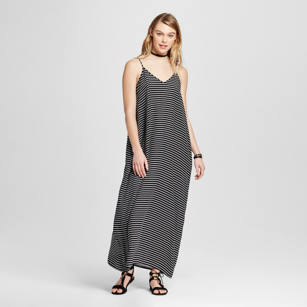 Women's Maxi Dress - Xhilaration (Juniors') Black/White S