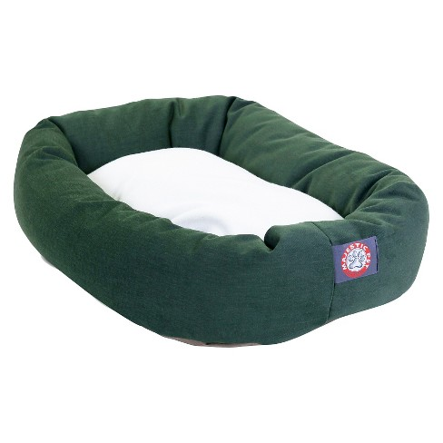 Majestic Pet Sherpa Bagel Dog Bed - image 1 of 2