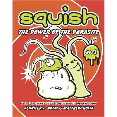The Power of the Parasite - (Squish (Paperback)) by  Jennifer L Holm & Matthew Holm (Paperback)