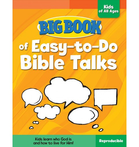 Big Book of Easy-to-Do Bible Talks for Kids of All Ages (Paperback) - image 1 of 1