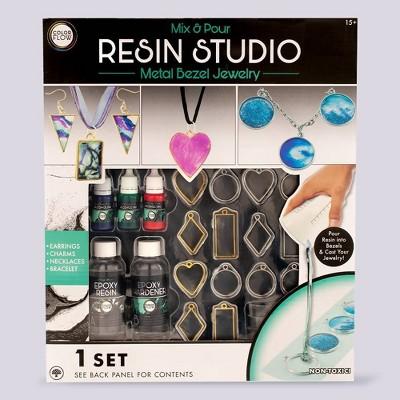 Metal Bezel Jewelry Kit - Resin Studio
