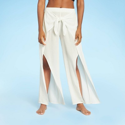 Women's Tie-Front Cover Up Pants - Kona Sol™