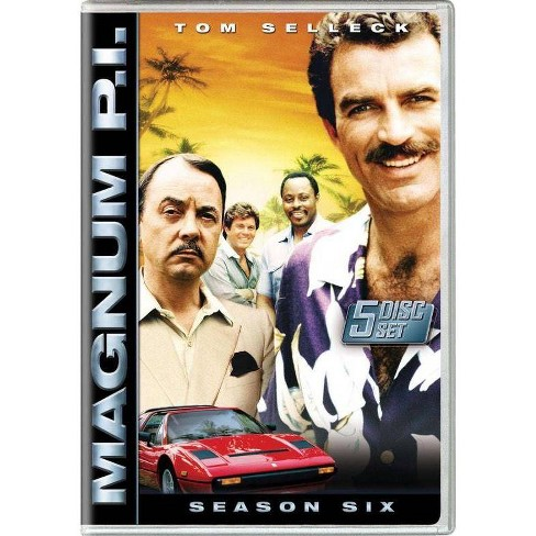 Magnum P.I.: The Complete Sixth Season (DVD) - image 1 of 1