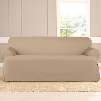 Heavyweight Cotton Duck T Sofa Slipcover   Sure Fit : Target