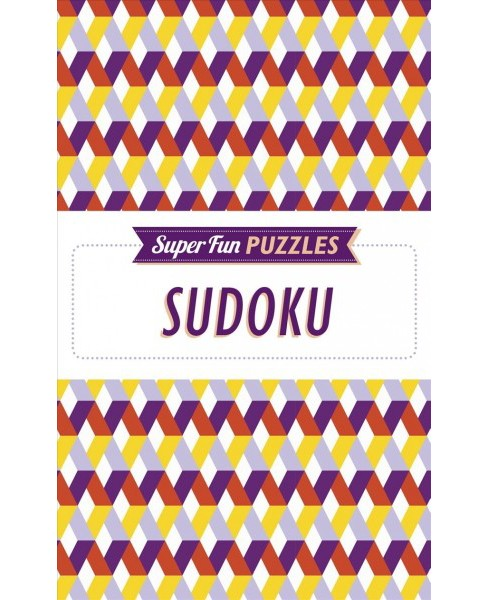Super Fun Puzzles Sudoku (Paperback) - image 1 of 1