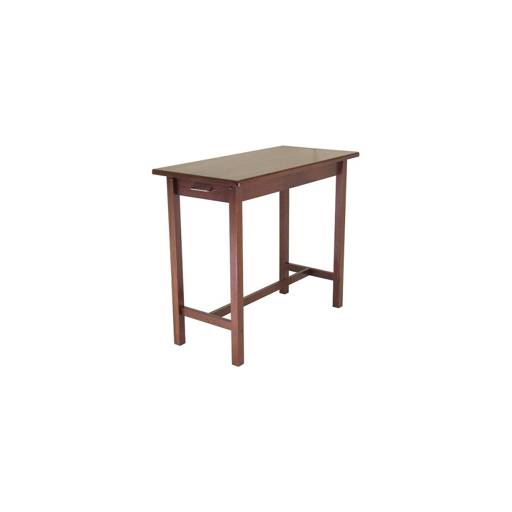 Breakfast Table Wood/Antique Walnut - Winsome