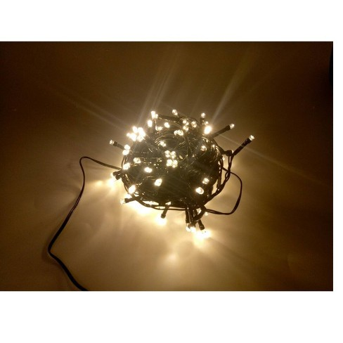 LED Milti-Function Timed String Lights with Remote - Hi-Line Gift - image 1 of 4