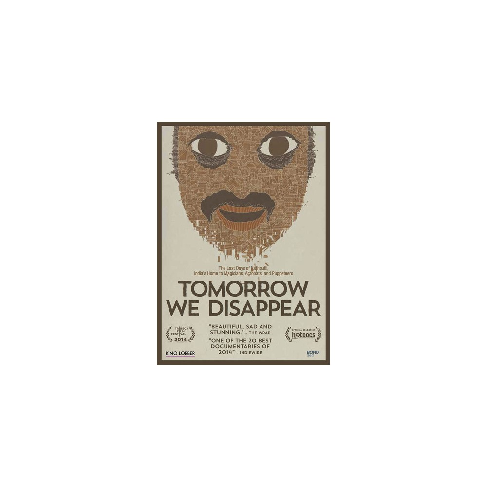 Tomorrow We Disappear (Dvd)