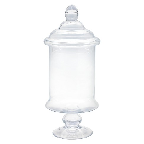 Diamond Star Glass Apothecary Jar With Lid Clear 15x65 Target
