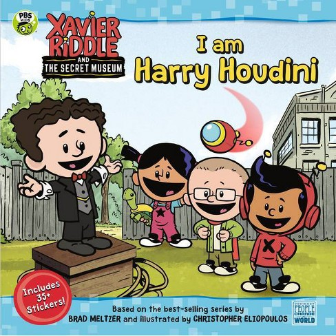 I Am Harry Houdini - (Xavier Riddle and the Secret Museum) by  Brooke Vitale (Paperback) - image 1 of 1