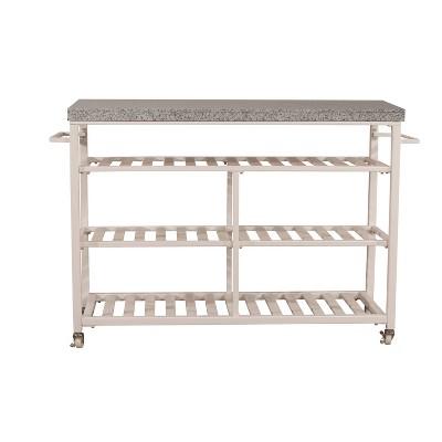 Kennon Kitchen Cart White - Hillsdale Furniture