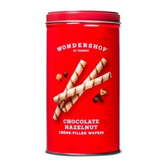 Chocolate Hazelnut Crème-Filled Wafers - 10oz - Wondershop™