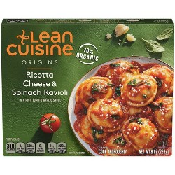 Lean Cuisine Marketplace Frozen Ricotta Cheese and Spinach Ravioli - 8oz