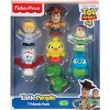 Fisher-Price Little People Disney Pixar Toy Story 4 Friends 7pk - image 3 of 3