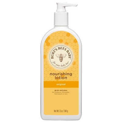 Burt's Bees Baby Bee Original Nourishing Lotion - 12 oz