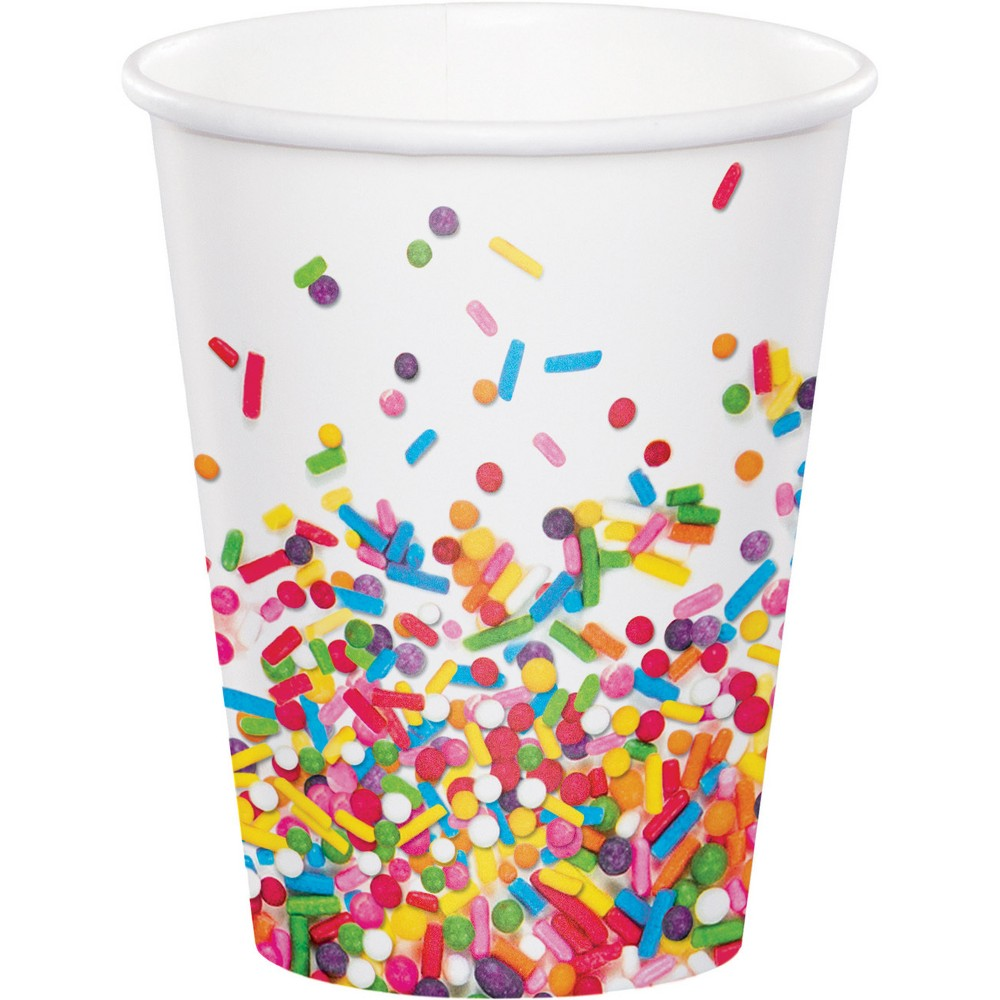 8ct Confetti Sprinkles Cups