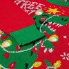 Kids' Tree Rex Pullover Sweater - Red - image 3 of 3