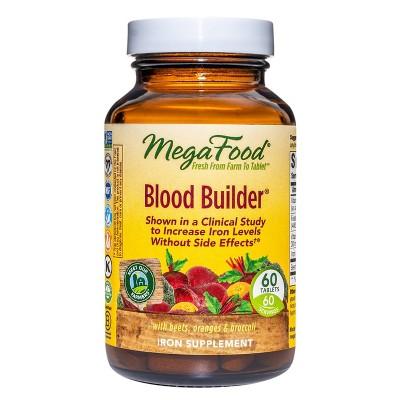 MegaFood Blood Builder Supplement - 60ct