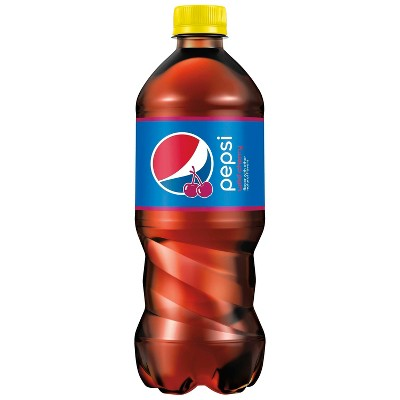 Pepsi Wild Cherry Cola Soda- 20 fl oz Bottle