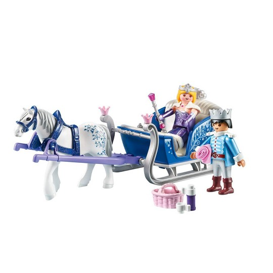 Playmobil Sleigh with Royal Couple image number null