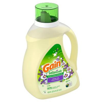 Gain Botanicals Plant Based White Tea & Lavender Liquid Laundry Detergent - 120 fl oz