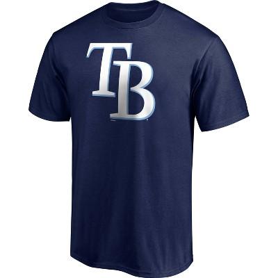 MLB Tampa Bay Rays Men's Short Sleeve Core T-Shirt