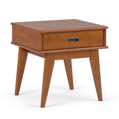 Tierney Solid Hardwood Mid Century End Table - Wyndenhall