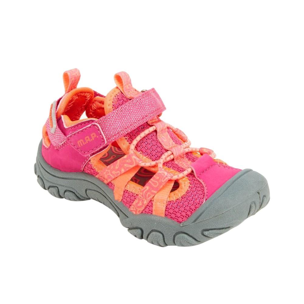 Toddler Girls' M.A.P. Niagara Fisherman Sandals - Pink 8