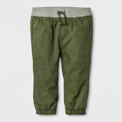 Baby Boys' Marled Jogger Pants - Cat & Jack™ Green 12M