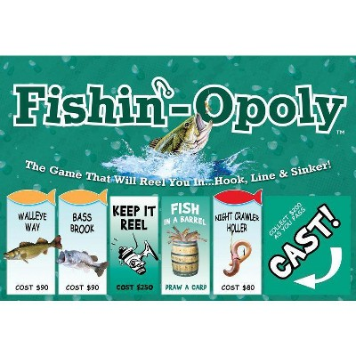 Fishin-Opoly Board Game