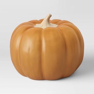 Large Ceramic Pumpkin Honey Yellow - Threshold™