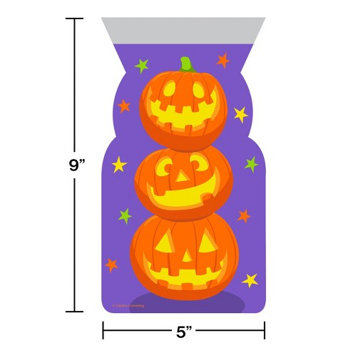 20ct Stacked Pumpkins Favor Bags - image 1 of 1